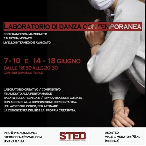 laboratorio di danza contemporanea